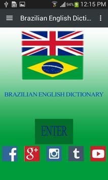 Brazilian English Dictionary poster
