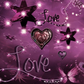 crystal girly wallpaper icon