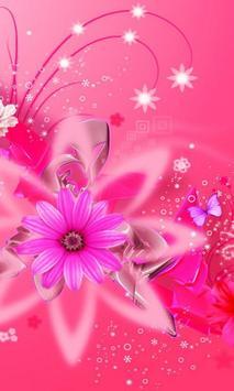 crystal girly wallpaper poster