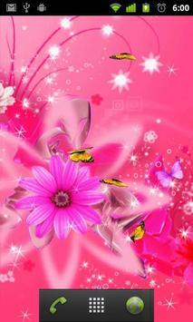 crystal girly wallpaper apk screenshot