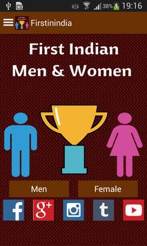 First Indian Men & Women poster