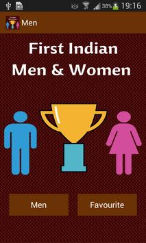 First Indian Men & Women apk screenshot