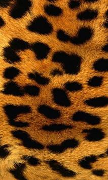 crystal leopard wallpaper poster