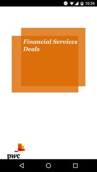 PwC Financial Services Deals poster