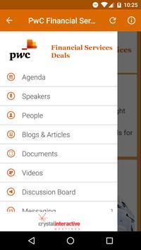 PwC Financial Services Deals apk screenshot