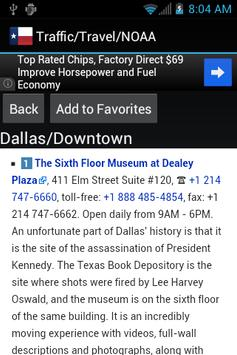 Dallas Traffic Cameras apk screenshot