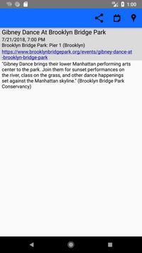 NYC Free Summer Events screenshot 7