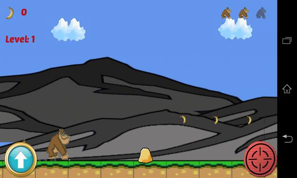Jungle Monkey Run apk screenshot