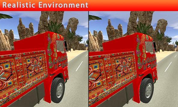 VR Truck Hill Drive apk screenshot