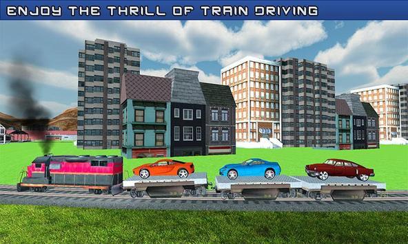 Car Cargo Train Transport 3D apk screenshot