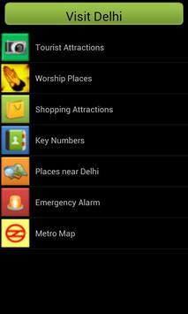 Visit Delhi screenshot 1
