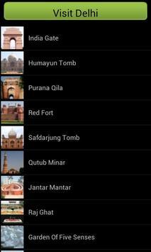 Visit Delhi screenshot 2