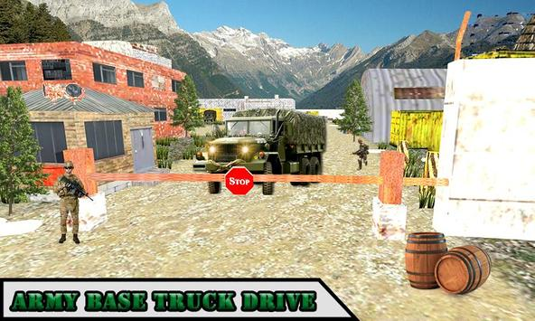 Drive Army Truck Check Post apk screenshot