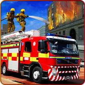 Firefighter Hero City Rescue icon
