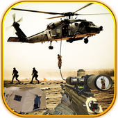 Sniper Shooting Heli Action icon
