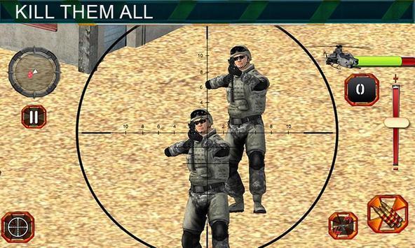 Sniper Shooting Heli Action screenshot 14