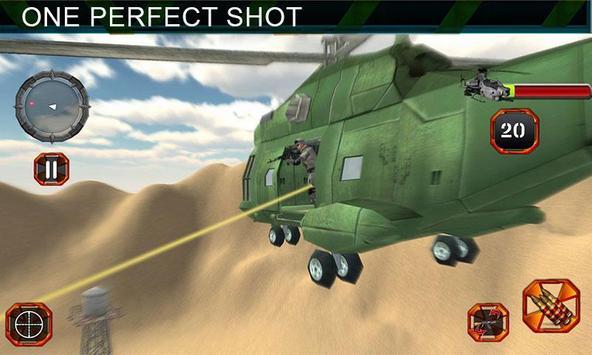 Sniper Shooting Heli Action screenshot 1
