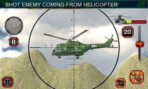 Sniper Shooting Heli Action screenshot 9
