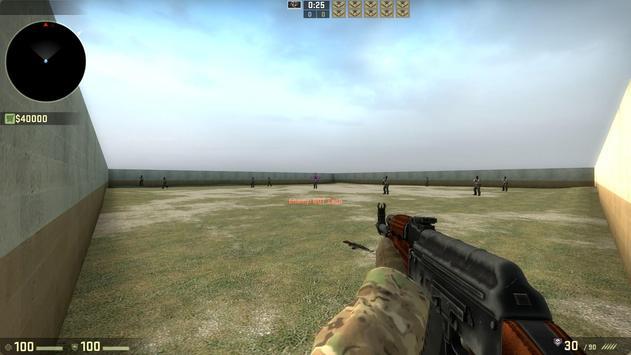 Gun Counter Strike 1.6 apk screenshot