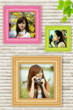 Photo Collage Frame poster