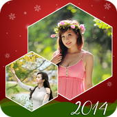Edit photo with square frames icon