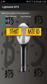 BTS Lightstick постер
