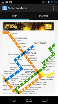 Montreal Metro poster