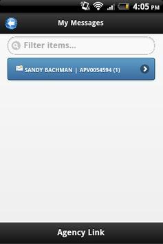 Agency Link Message Center apk screenshot