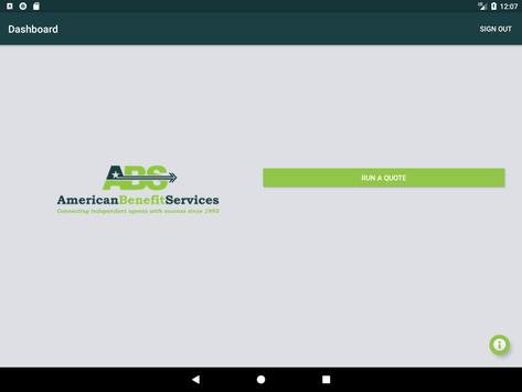 American Benefit Services Quoting screenshot 11