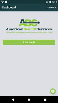American Benefit Services Quoting screenshot 1