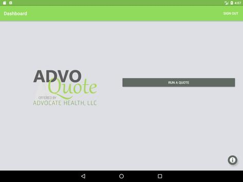 AdvoQuote apk screenshot