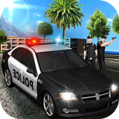 City Police Chase Drive Sim icon