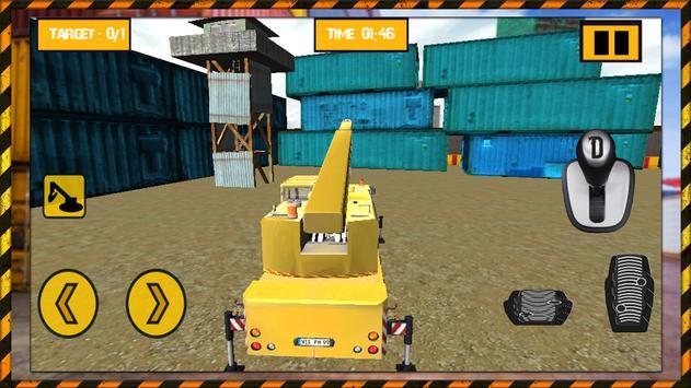 Crane Cargo Simulator Pro 2016 apk screenshot