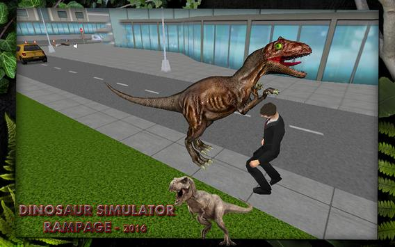 Dino Simulator City Rampage apk screenshot