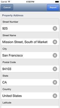 Service Request (AMANDA 6) apk screenshot