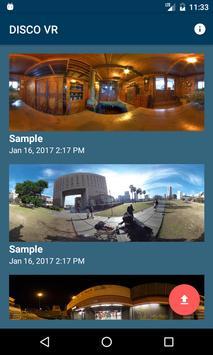 DISCO VR poster