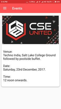 CSE Techno India screenshot 1