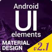 Material Design UI Template icon
