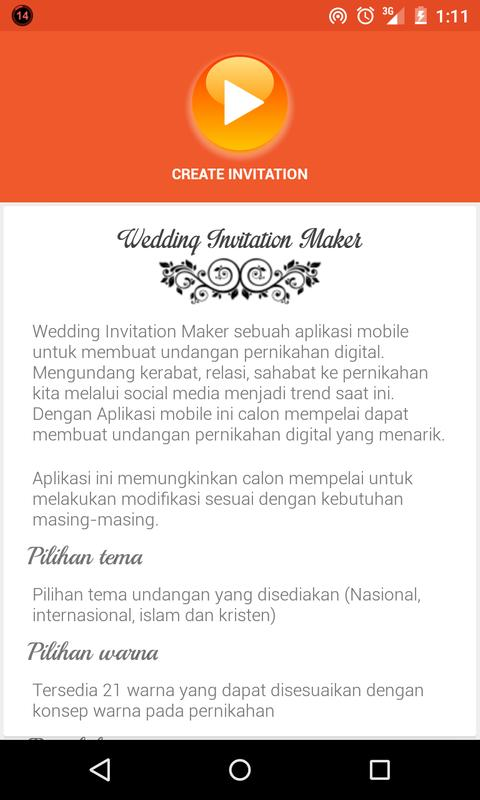 Undangan Pernikahan For Android Apk Download