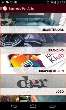 Business Portfolio poster