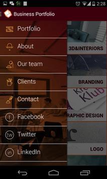 Business Portfolio apk screenshot
