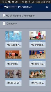 UCSF Fitness & Recreation screenshot 3