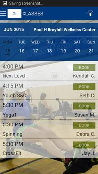 Paul Broyhill Wellness Center screenshot 3