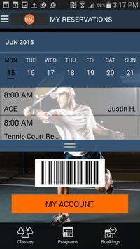 Raleigh Racquet Club apk screenshot