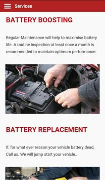 Battery UAE screenshot 3