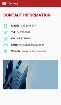 Battery UAE screenshot 7