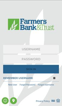 Farmers Bank & Trust poster