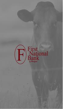 First National Bank Hereford poster
