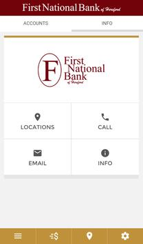 First National Bank Hereford apk screenshot