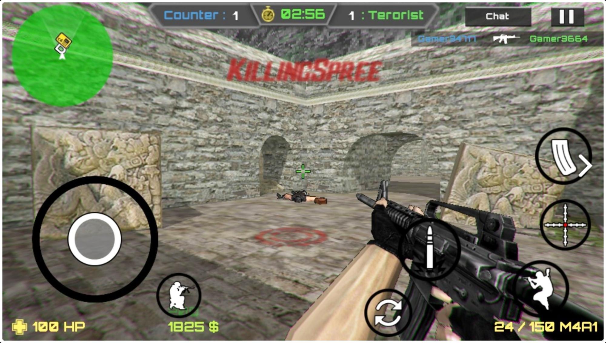 Combat Strike Online Cs For Android Apk Download - ffa gun game knife game roblox